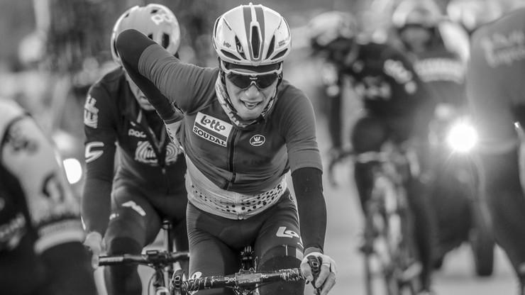 Kibic nagrał moment wypadku belgijskiego kolarza. Bjorg Lambrecht zginął na trasie Tour de Pologne
