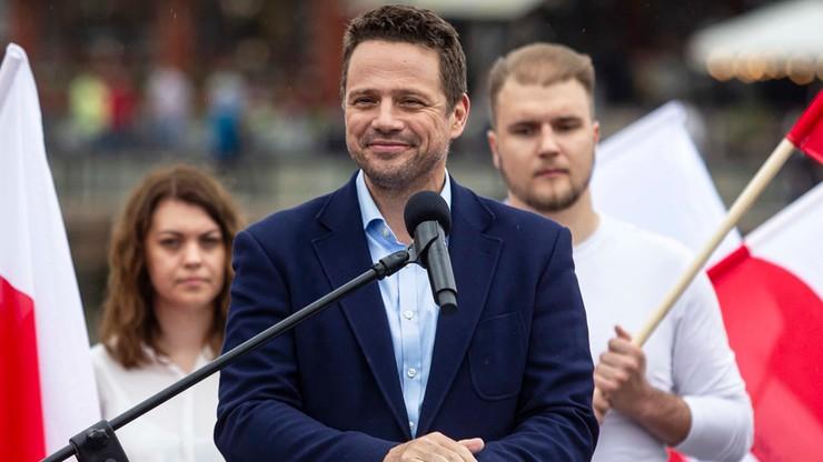 Sondaż: Trzaskowski liderem rankingu zaufania