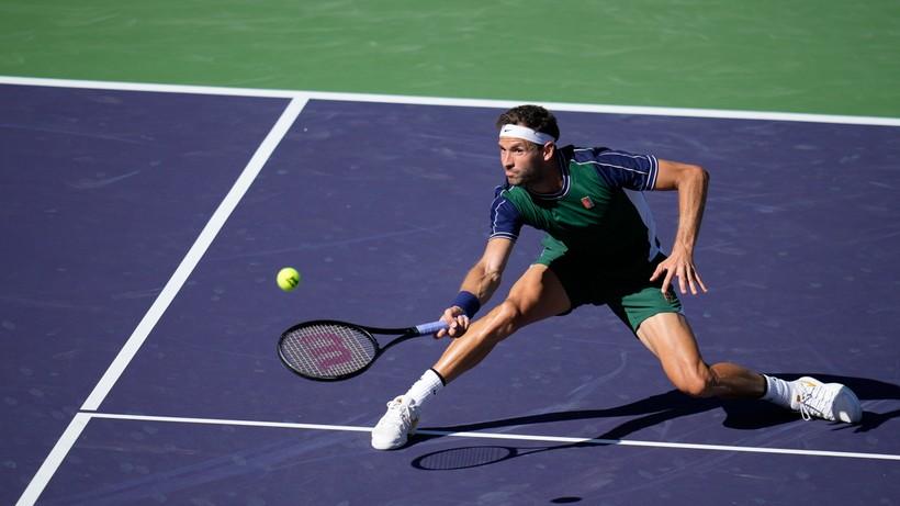 ATP w Indian Wells: Grigor Dimitrow rywalem Huberta Hurkacza w ćwierćfinale