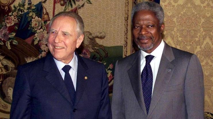 Zmarł były włoski prezydent - przyjaciel Jana Pawła II