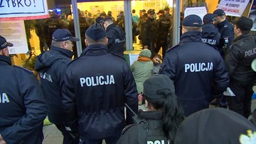 23 osoby usłyszały zarzuty w związku z protestem w siedzibie Lasów Państwowych