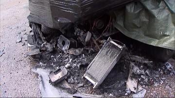 W Lublinie spłonęło pięć samochodów. Trwają poszukiwania podpalacza