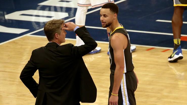 NBA: Gwiazda Golden State nie wystąpi w pierwszej rundzie play off