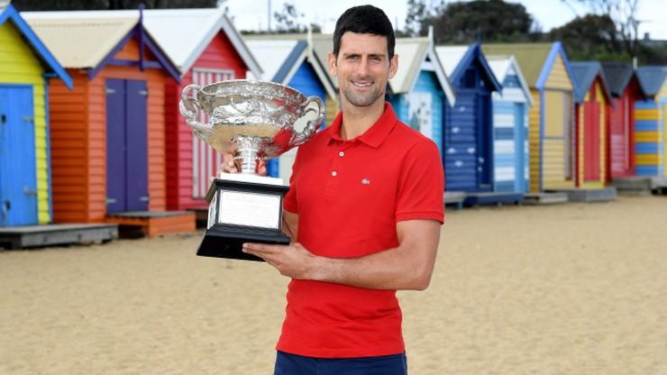 Ranking ATP: Djokovic 311. tydzień na prowadzeniu. Hurkacz utrzymał pozycję