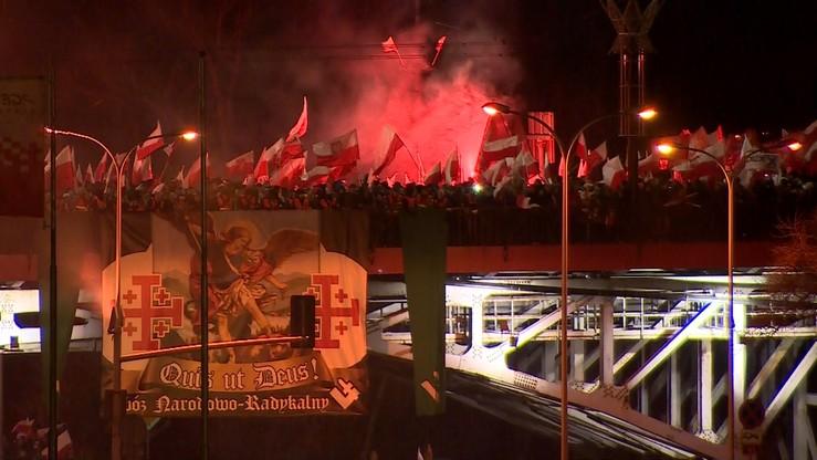 """4 tys. zł zadośćuczynienia za zatrzymanie podczas Marszu Niepodległości. """"Działania policji naganne"""""""