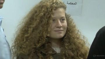 Izrael zwolnił z więzienia palestyńską nastolatkę, która zaatakowała żołnierzy