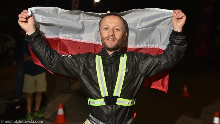 Przebiegł 490 km w niecałe 70 godzin. Polak dotarł do mety najszybciej