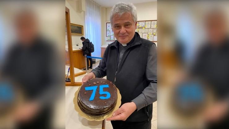 Urodziny kardynała Krajewskiego. Nietypowy prezent od Franciszka