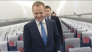 573 pozycje w wykazie lotów Donalda Tuska. Kancelaria Premiera opublikowała listę