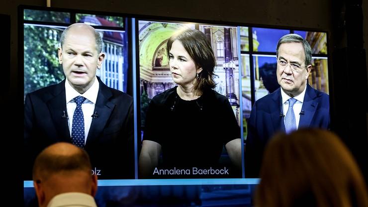 Niemcy. Ostatnia debata przed wyborami. Zdaniem telewidzów wygrał Olaf Scholz