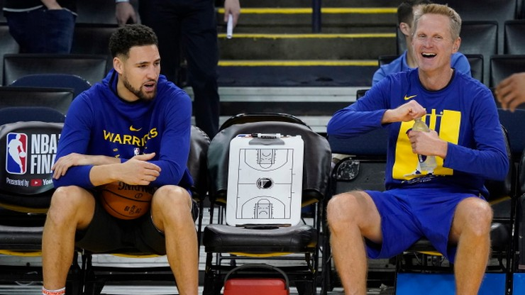 NBA: Thompson ma zagrać w piątek, Warriors liczą też na Duranta
