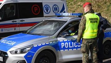 Policja nie wpuszcza turystów na Podhale