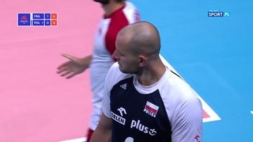 Bartosz Kurek zalał się krwią! Mecz z Francją na moment przerwany