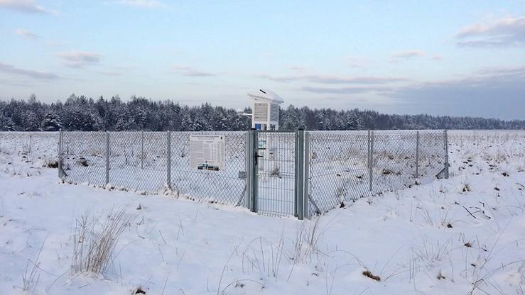 Minus 26 stopni. Tegoroczny rekord zimna padł w Czarnym Dunajcu