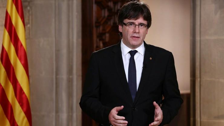 Premier Katalonii: ogłosimy niepodległość, bo tego wymaga prawo