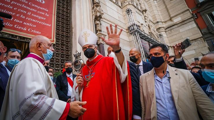 Włochy. Cud w Neapolu. Krew św. Januarego stała się płynna