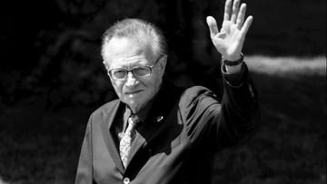 Nie żyje legendarny dziennikarz Larry King