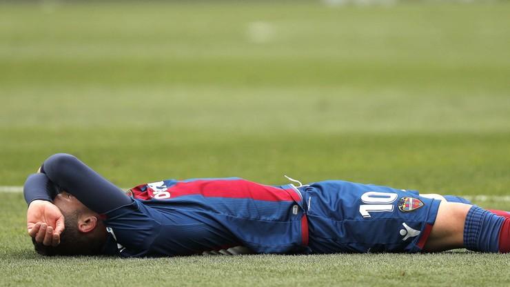 Piłkarz z La Liga złapany na gorącym uczynku. Został zatrzymany przez policję i ma poważne problemy