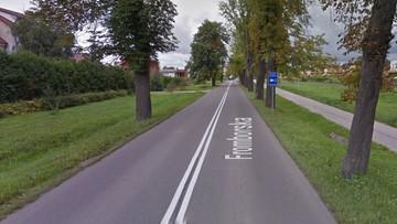 18-letni kierowca zginął w wypadku w Elblągu. Pasażer jest ciężko ranny