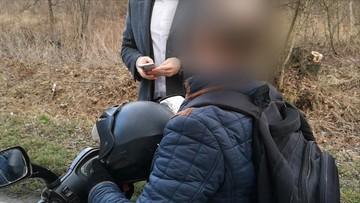 Ekipa Polsat News zatrzymała pijanego kierowcę [WIDEO]