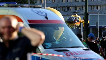 Tour de Pologne: Makabryczny wypadek na finiszu pierwszego etapu. Mamy komentarz lekarza (WIDEO)