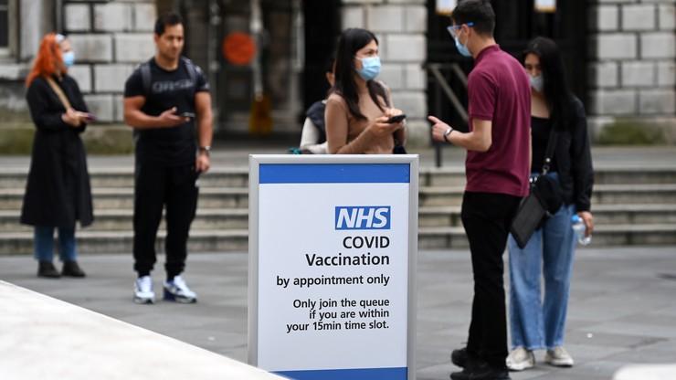 Wielka Brytania. Rząd: szczepienia zapobiegły 60 tys. zgonów i 22 mln zakażeń
