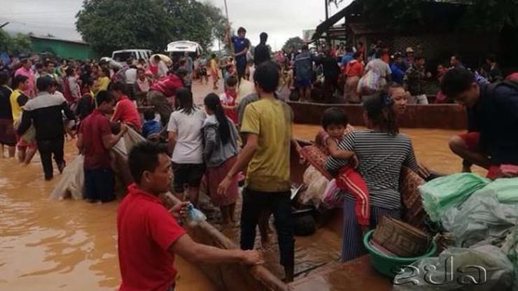 Katastrofa zapory wodnej w Laosie. Wiele ofiar, setki zaginionych