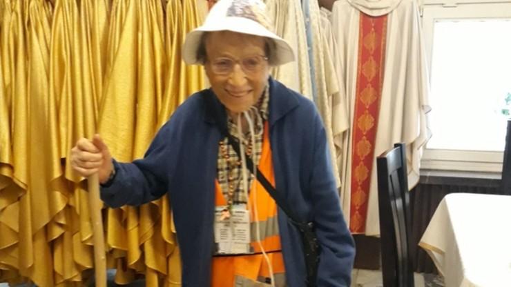 """95-latka pieszo dotarła z Włoch na Jasną Górę. """"Nie jestem odważna"""""""