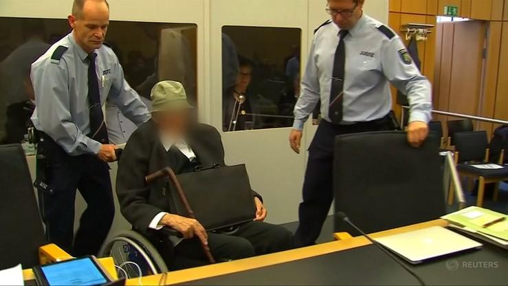 Strażnik obozu koncentracyjnego Stutthof stanął przed sądem dla nieletnich, choć ma 94 lata