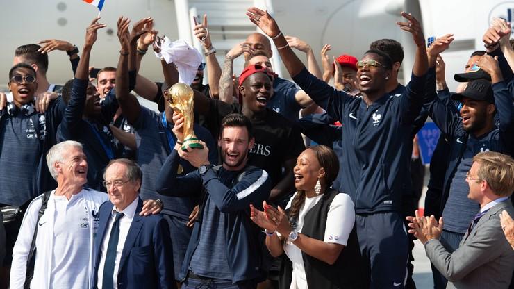 MŚ 2018: Francuscy mistrzowie wrócili do Paryża