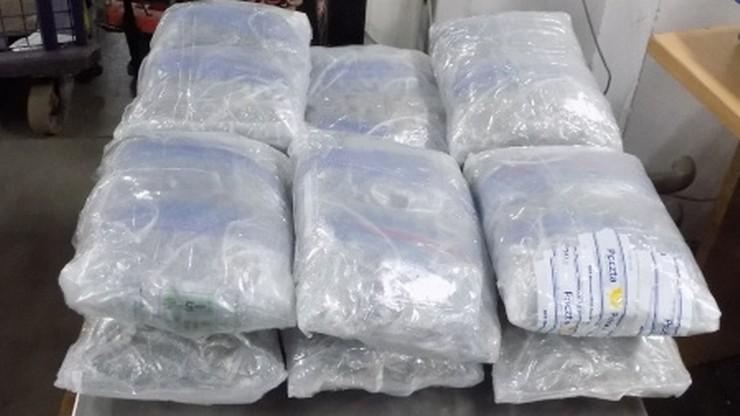 6,5 kg marihuany w paczce z Kanady. Narkotyki miały być odebrane z paczkomatu w Warszawie