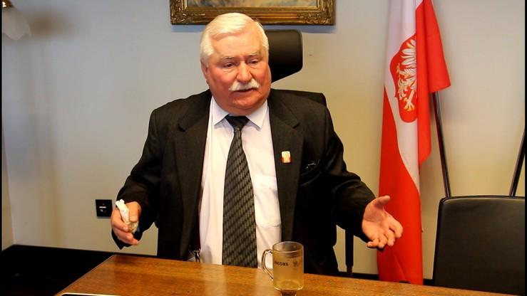 """Wałęsa nie spotka się z papieżem. """"Nie mogę zmienić kalendarza"""""""