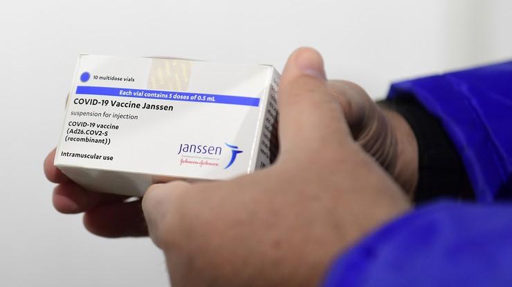 USA. Władze zaleciły wstrzymanie szczepień preparatem Johnson & Johnson
