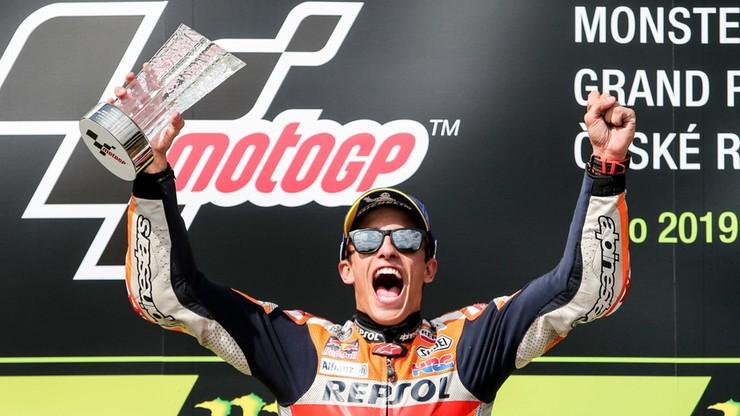 GP Czech: Jubileuszowe zwycięstwo Marqueza w MotoGP