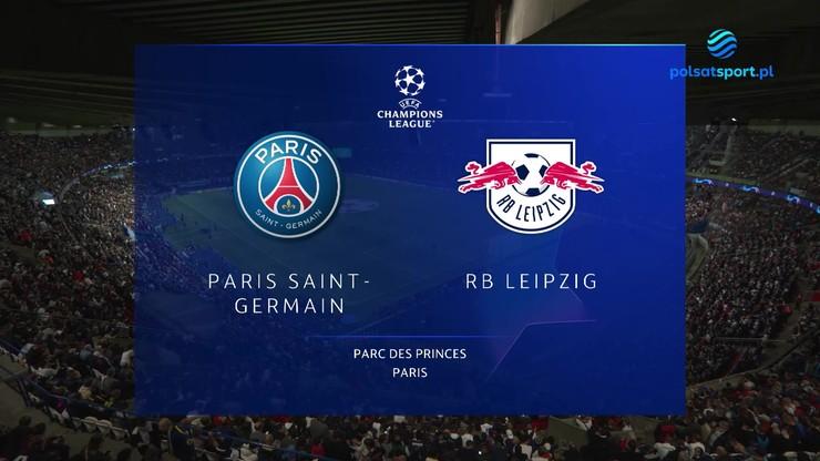 Paris Saint-Germain - RB Lipsk. Skrót meczu