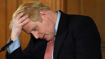 """""""Szybkiego powrotu do zdrowia"""". Światowi przywódcy wspierają Borisa Johnsona"""