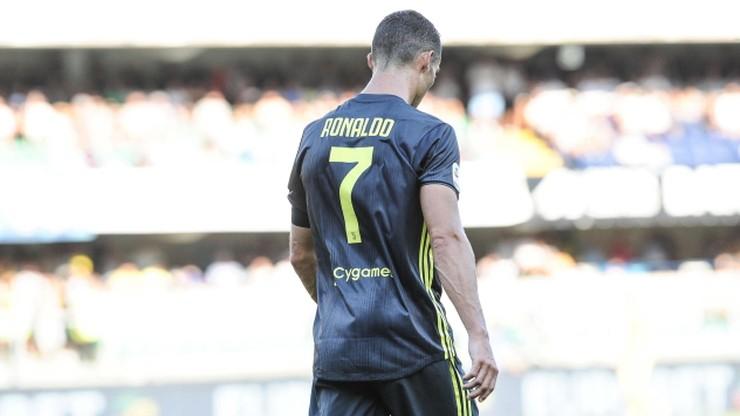 Ronaldo przeprosił bramkarza Chievo