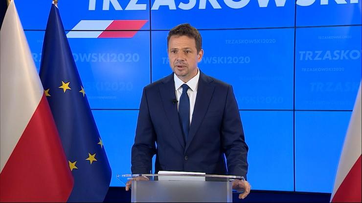 """Trzaskowski proponuje """"arenę prezydencką"""". """"Moim prawdziwym przeciwnikiem jest Kaczyński"""""""