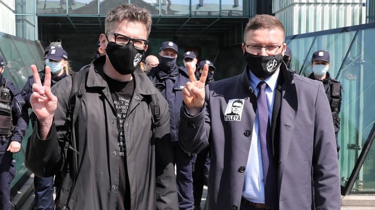 """""""To przebrani w togi pisowscy nominaci"""". Politycy komentują decyzję ws. sędziego Tulei"""
