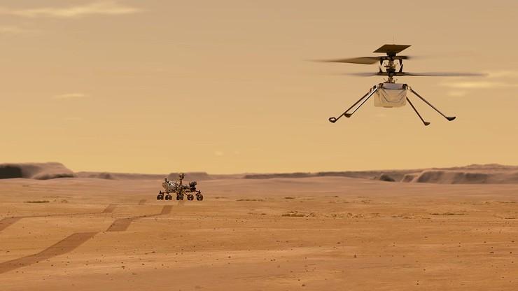 Lot drona na Marsie znów opóźniony. Konieczna aktualizacja oprogramowania