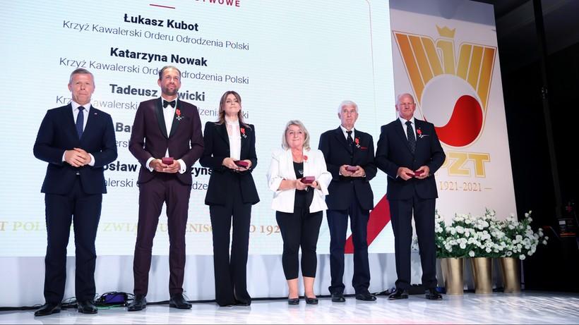 Katarzyna Nowak i Łukasz Kubot wśród uhonorowanych Krzyżem Kawalerskim Orderu Odrodzenia Polski