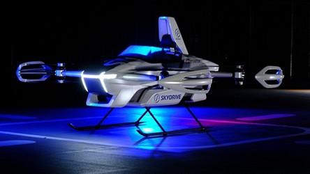 Oto testy SkyDrive SD-03, latającego samochodu od Toyoty [FILM]