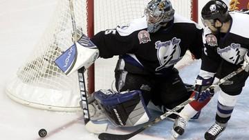 """NHL: Tampa Bay Lightning znów wygrali z Dallas Stars. """"Murarz"""" Wasilewski"""