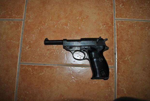 Nielegalny arsenał broni w Łabiszynie