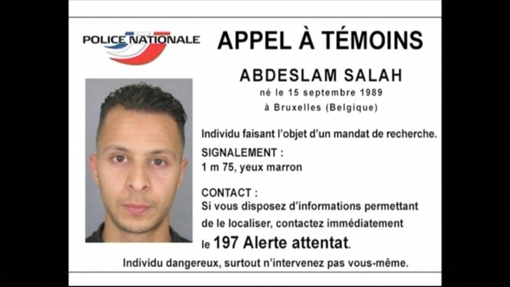 Poszukiwany w związku z zamachami w Paryżu mógł zbiec do Syrii