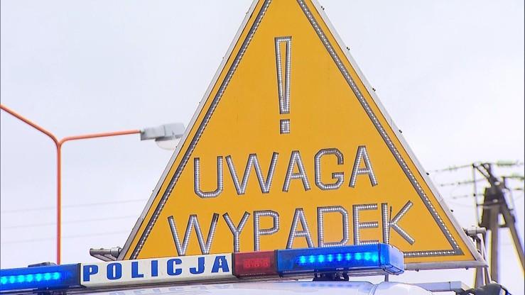 Śmiertelny wypadek w okolicy Góry Kalwarii. Zderzyły się cztery auta