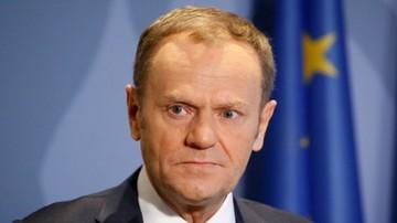 Brytyjskie tabloidy o Tusku: protekcjonalny pacan; dobrze, że wychodzimy z UE