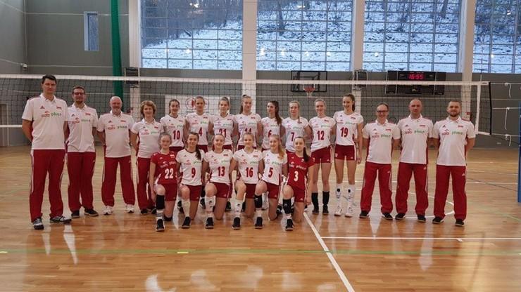 Młode polskie siatkarki rozbiły Łotwę! 25:6 w trzecim secie