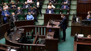 Tajne posiedzenie Sejmu. Wszyscy posłowie na sali