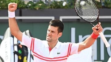French Open: Novak Djokovic pewnie awansował do 3. rundy